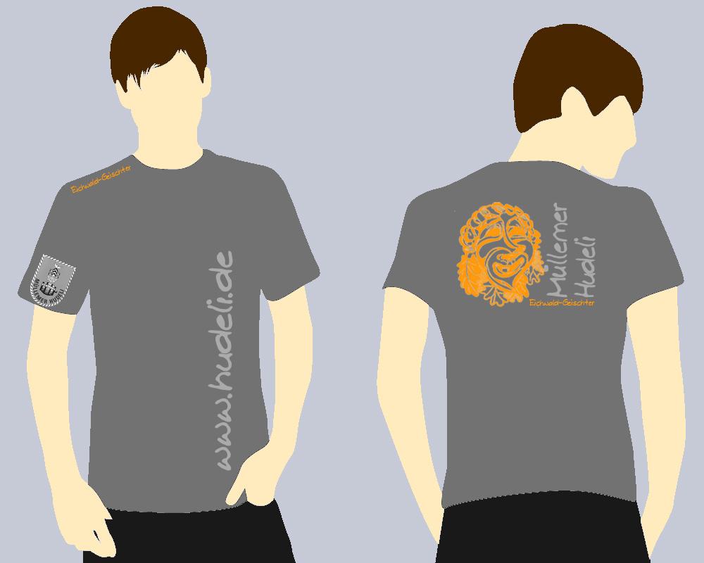 ein t shirt entsteht narrenzunft m llemer hudeli e v. Black Bedroom Furniture Sets. Home Design Ideas